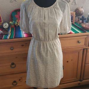 Madewell print dress sz6